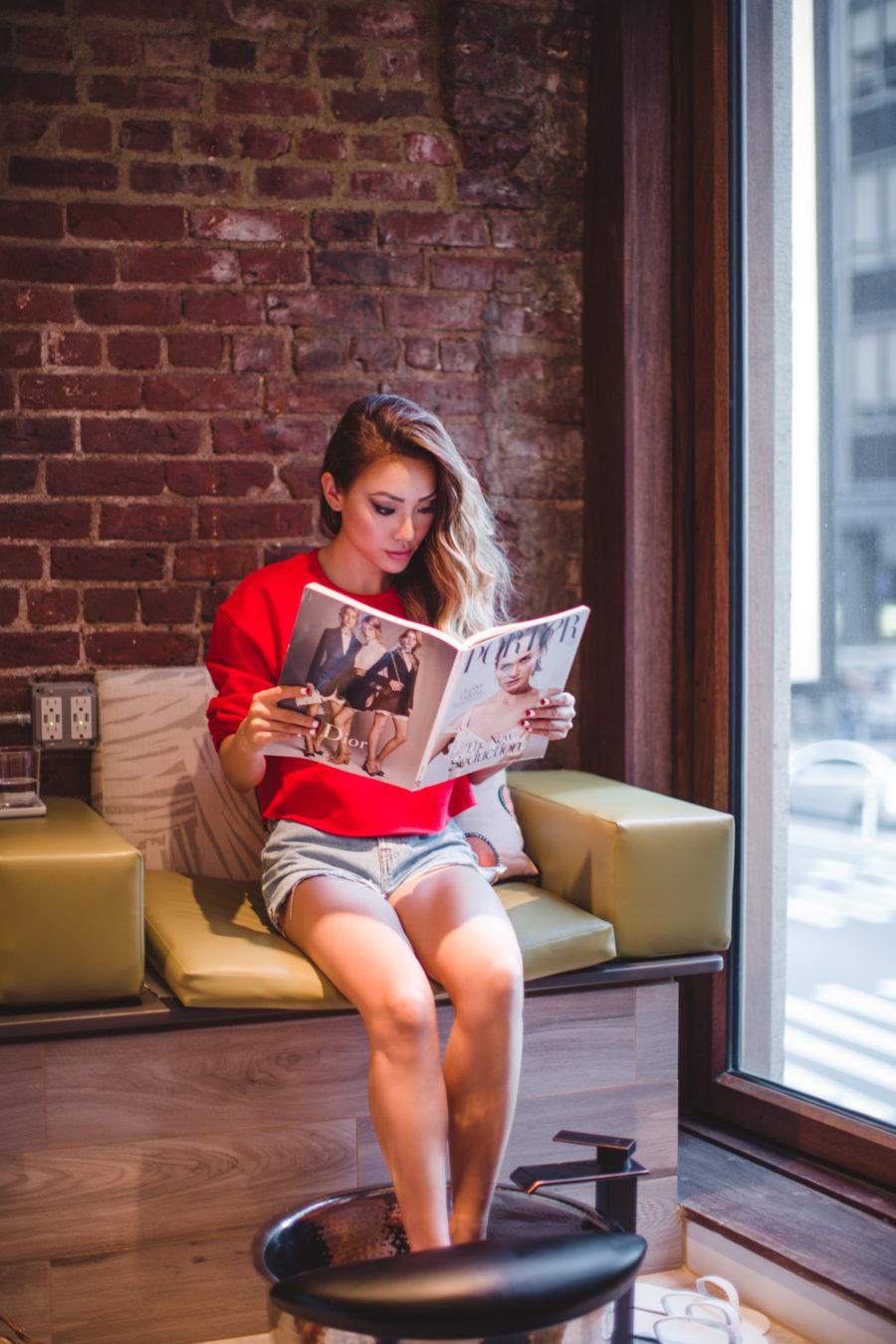 GILT CITY, THE GANDER NYC, VAN COURT SALON, NOTJESSFASHION, NYC, Top Fashion Blogger, Lifestyle Blogger, Travel Blogger