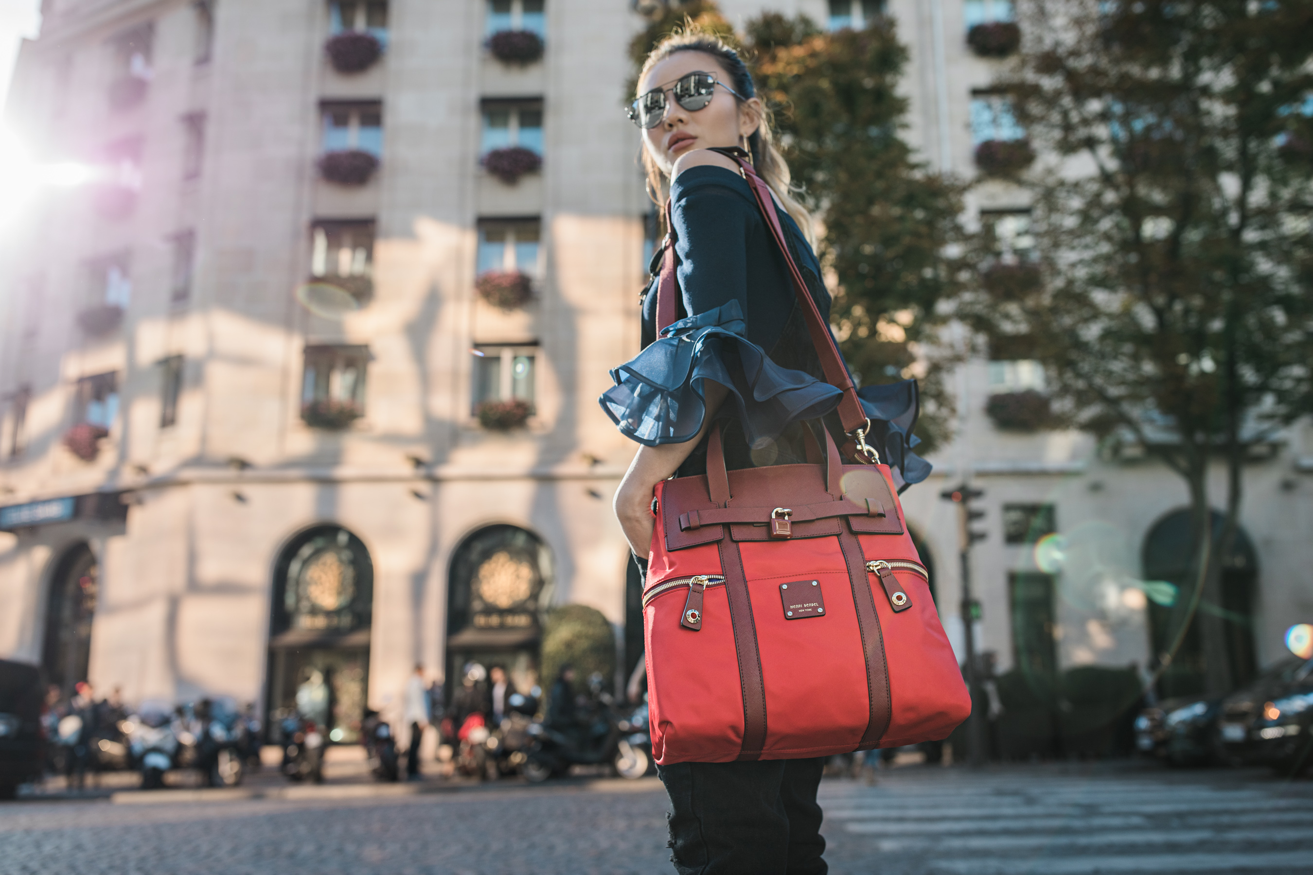 Henri Bendel, Jetsetter, Convertible, Backpack, NOTJESSFASHION, NYC, Top Fashion Blogger, Lifestyle Blogger, Travel Blogger