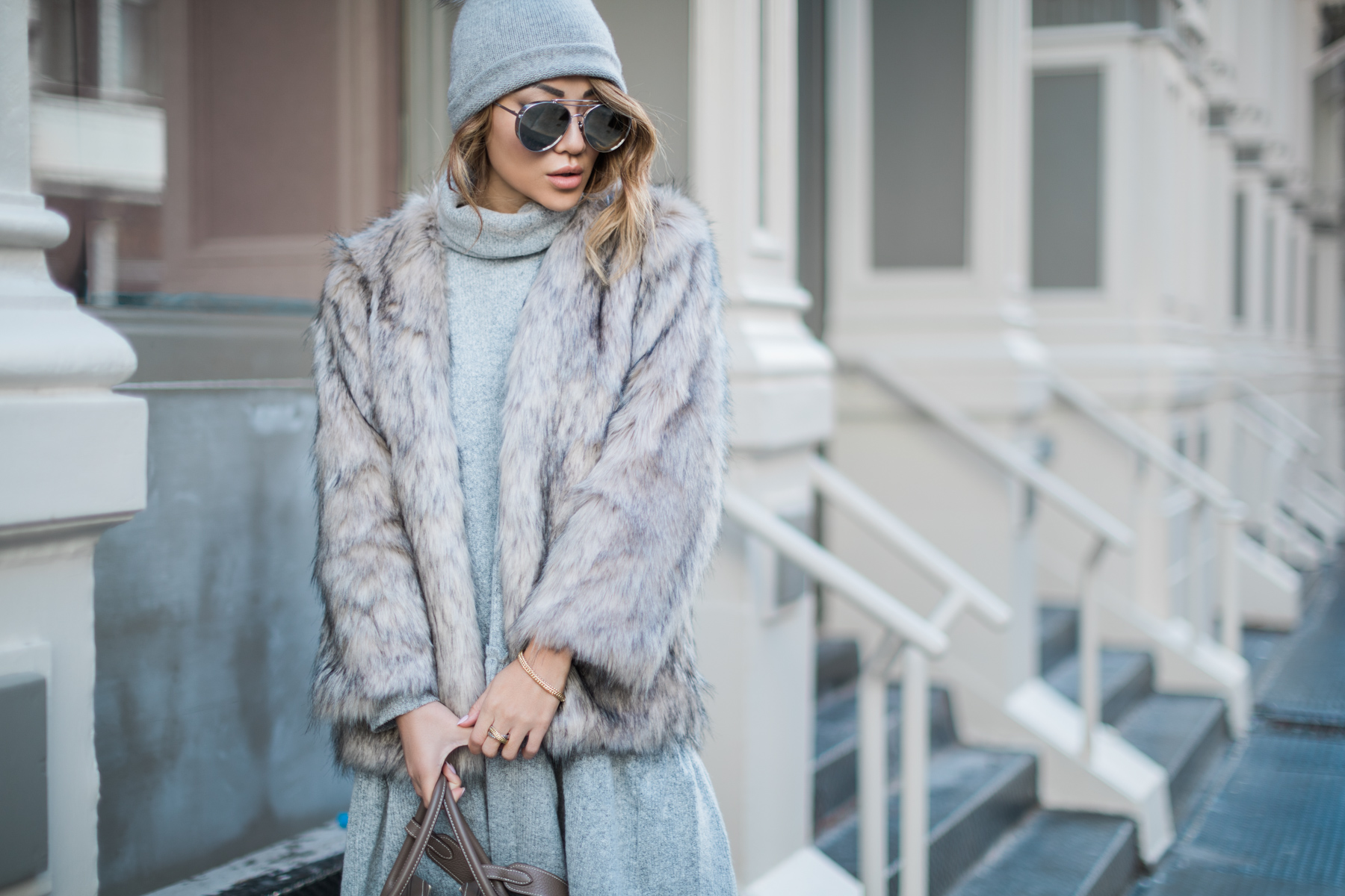 Essential Winter Coats Every Girl Should Own - Faux Fur Coat // notjessfashion.com