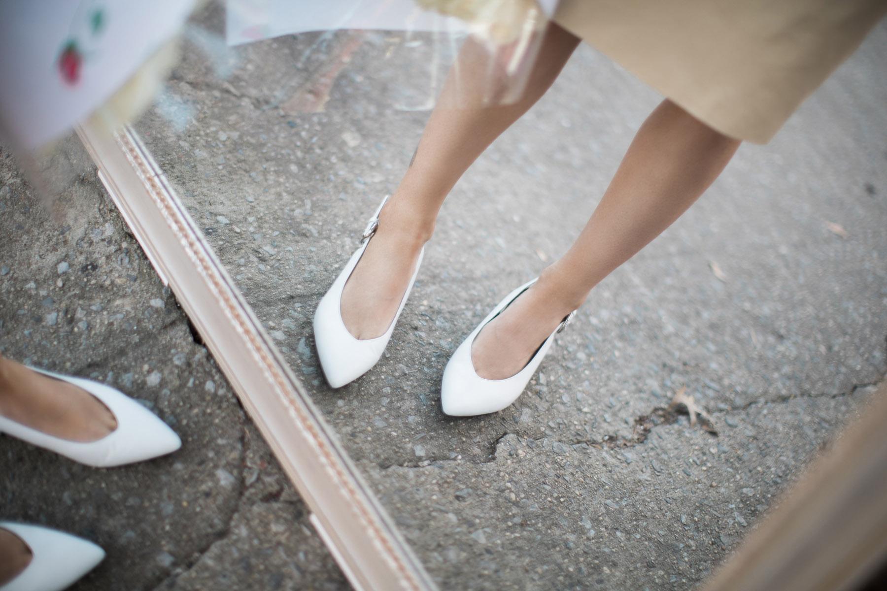 What to wear to a job interview - Marc Fisher LTD Fancya Pointy Toe Block Heel // NotJessFashion.com