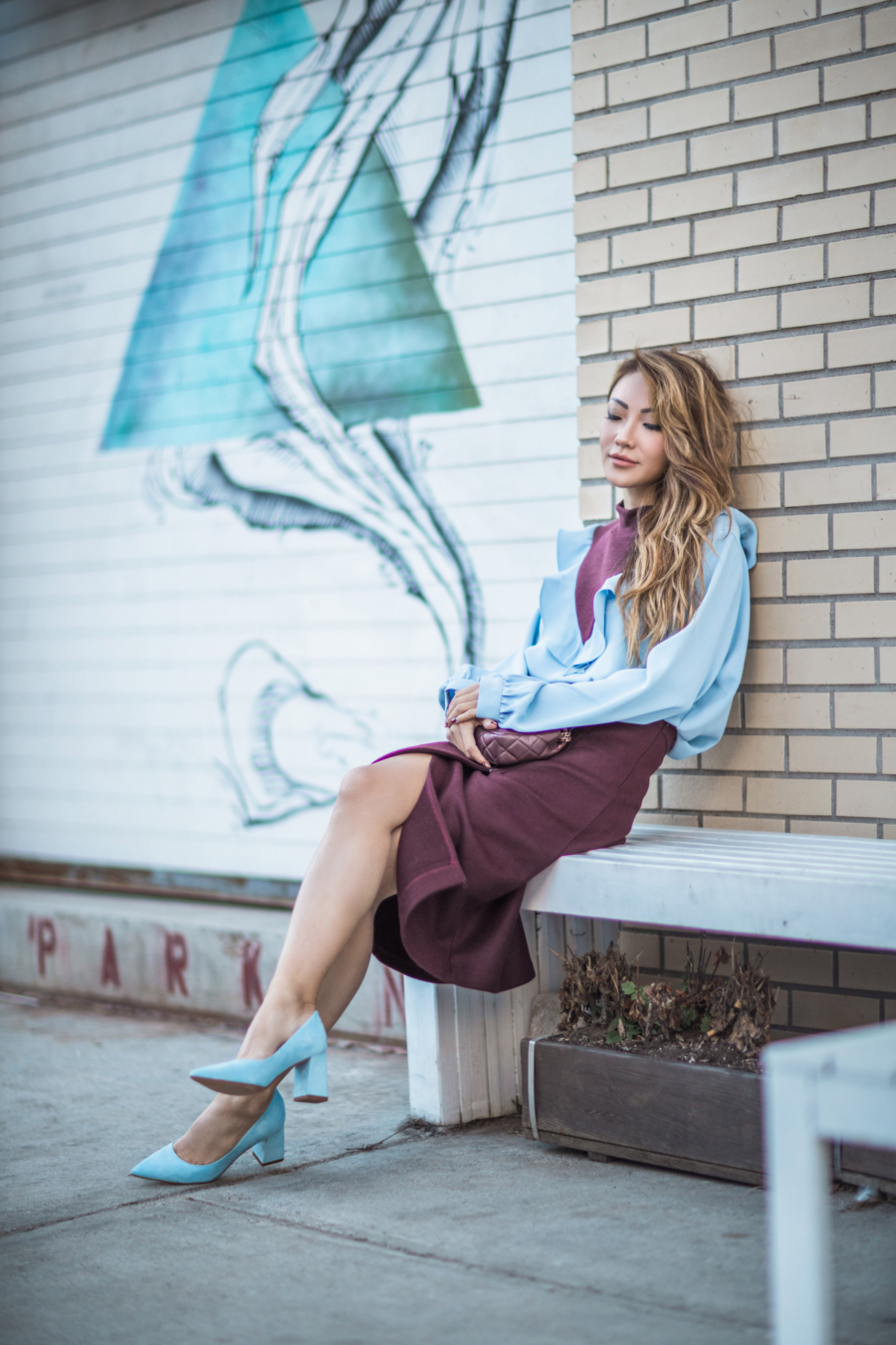 Blouse and Skirt - Summer Work Outfits That Won't Make You Break A Sweat // NotJessFashion.com