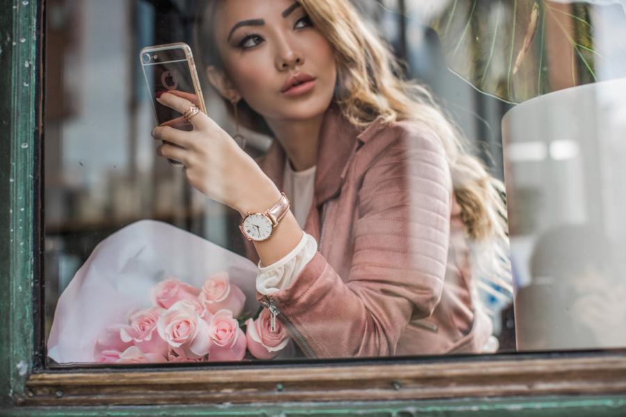 Cluse Minuit Model Rose Gold Watch // NotJessFashion.com