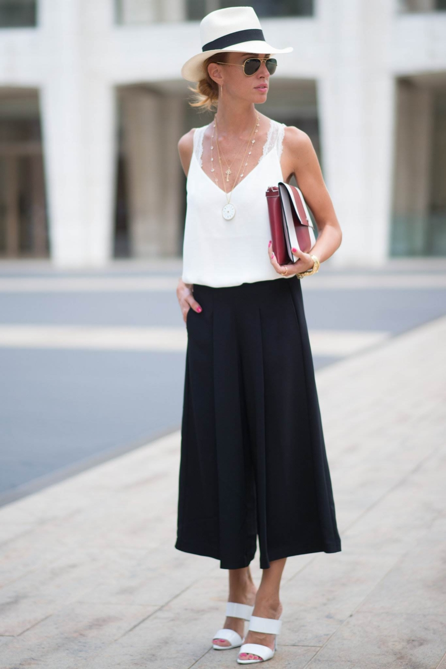 Black Culottes - 5 Styles of Culottes That Proves They're For Everyone // NotJessFashion.com