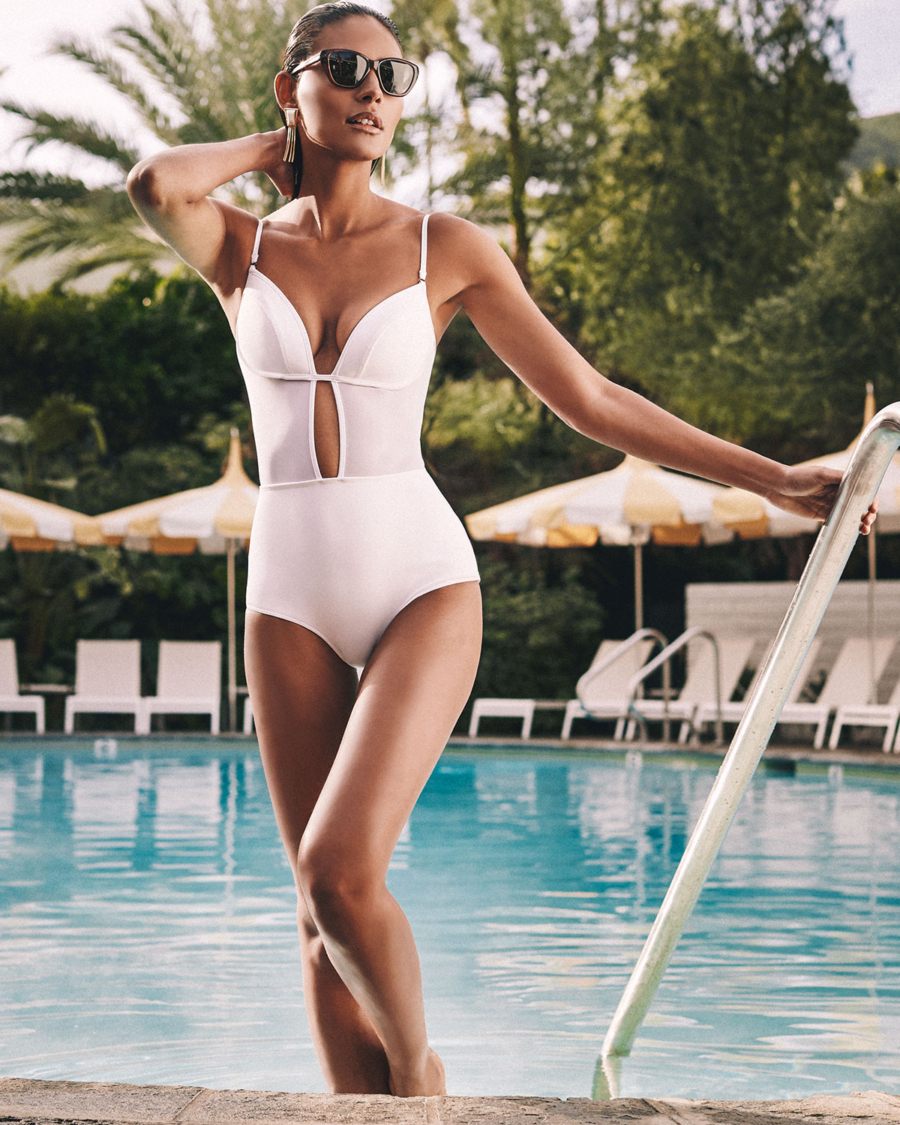 One-Piece Swimsuit - 9 Swimsuit Styles That Will Be Huge This Summer // NotJessFashion.com