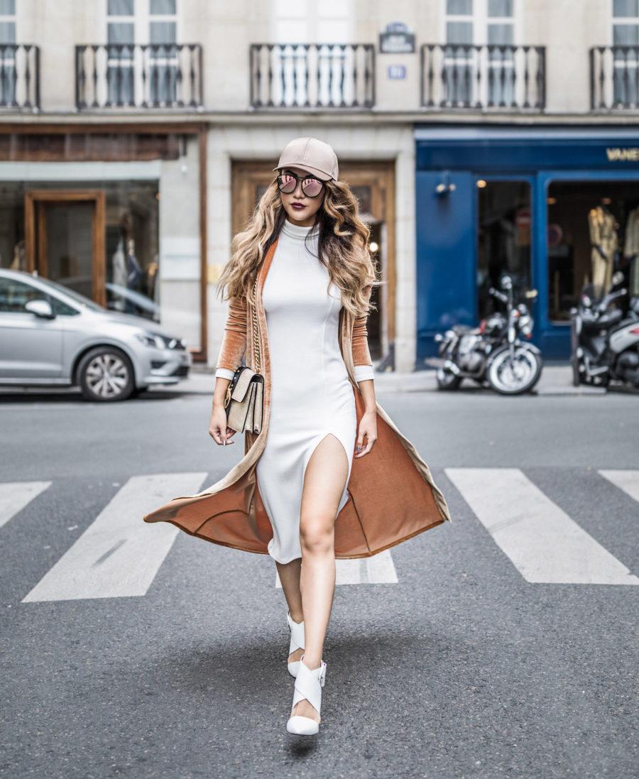 Velvet Duster, Paris Fashion Week 2017 // NotJessFashion.com