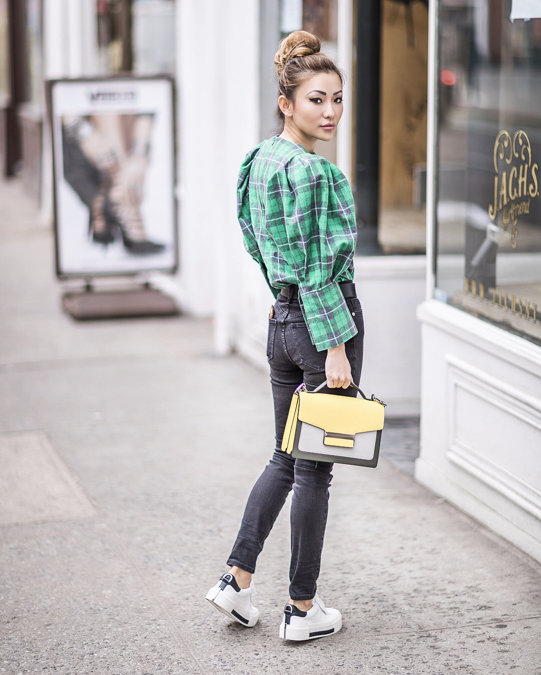 Plaid - 9 Looks that Seamlessly Transition from Winter to Spring // NotJessFashion.com
