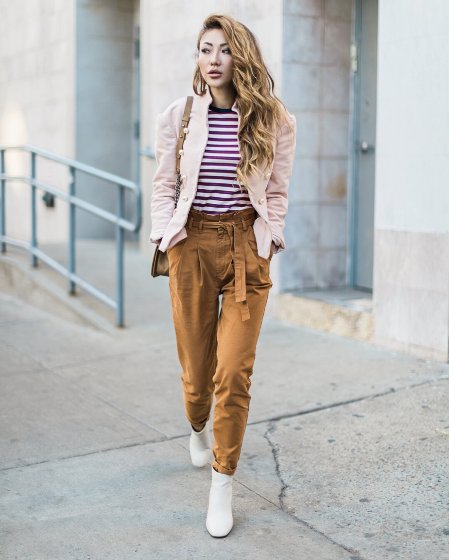 White Boots - 9 Looks that Seamlessly Transition from Winter to Spring // NotJessFashion.com