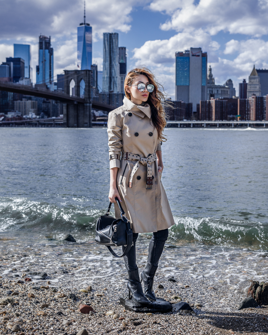Fashionable Accessories for a Rainy Day - Trench Coat // NotJessFashion.com