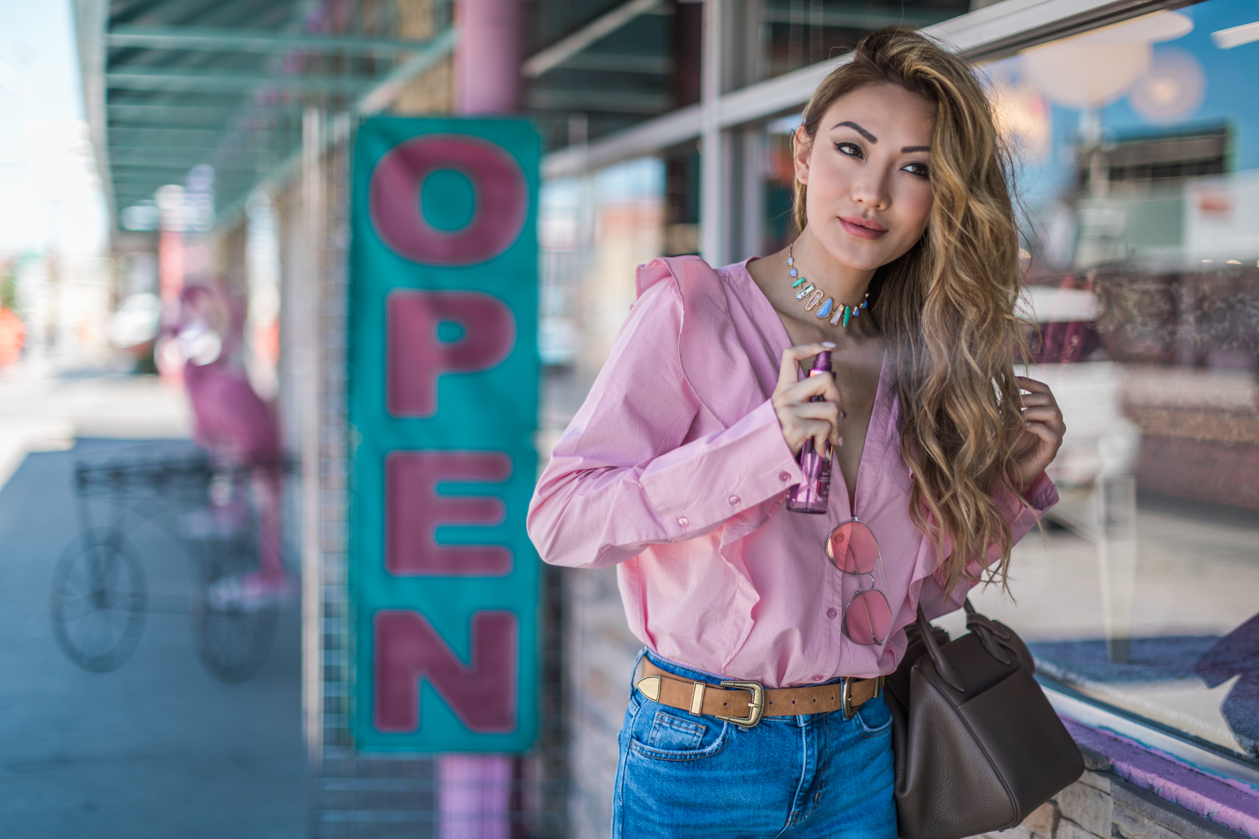 On the go hair touch up - Alterna Hair Care - - The Secret to Keeping Color-Treated Hair Healthy All Summer Long // Notjessfashion.com