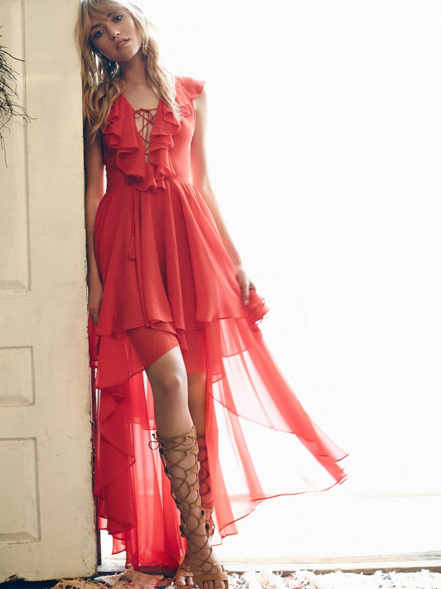 Asymmetrical Hem Dress - Best Dressed Spring Wedding Guest // Notjessfashion.com