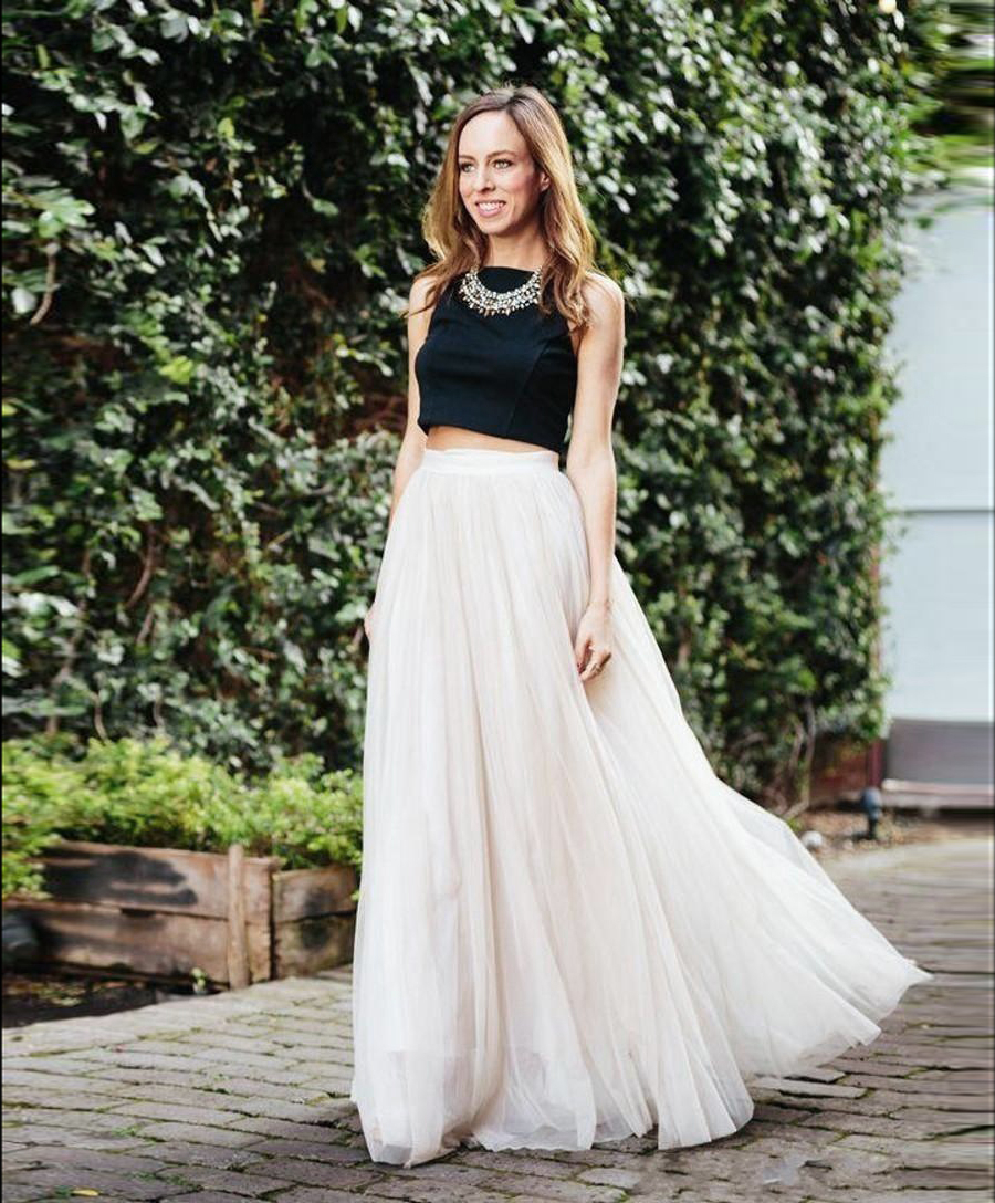 Maxi Skirt Prom Dress - The Coolest Prom Dress Styles No Matter What Budget // Notjessfashion.com