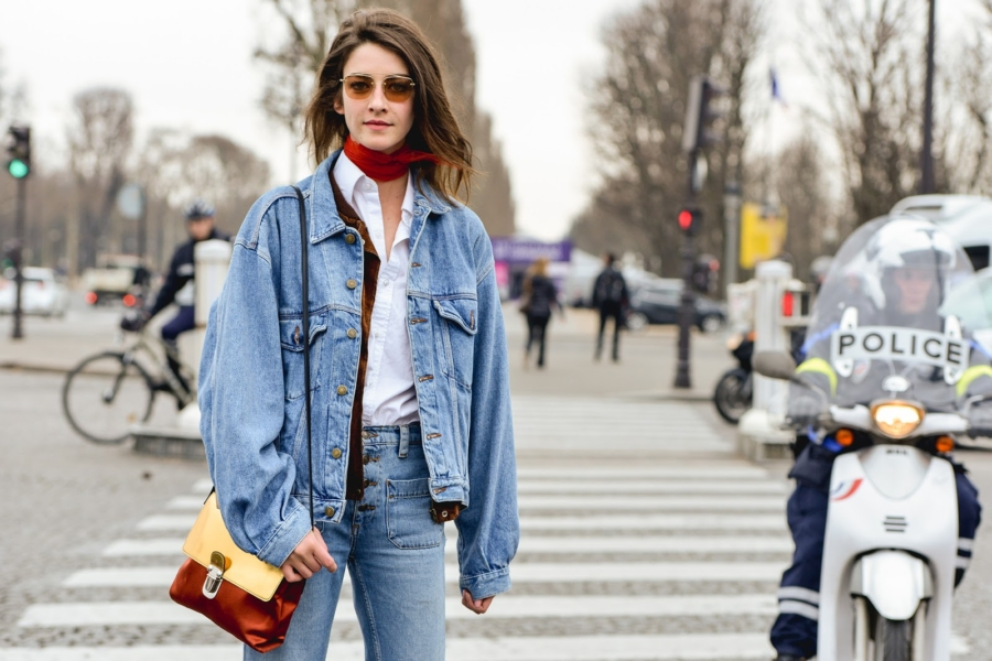 Denim Jacket - 7 Transitional Jackets You'll Want For Spring // Notjessfashion.com