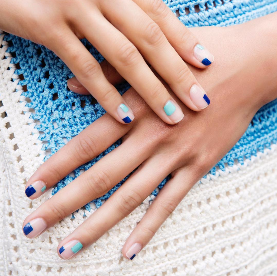 Graphic Nails - 5 Fashion Forward Nail Trends For Spring You Need To See // Notjessfashion.com