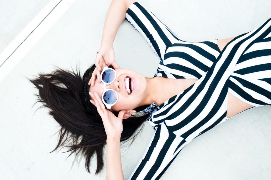 White Framed Sunglasses - 7 Sunglasses Trends Under 100 // Notjessfashion.com