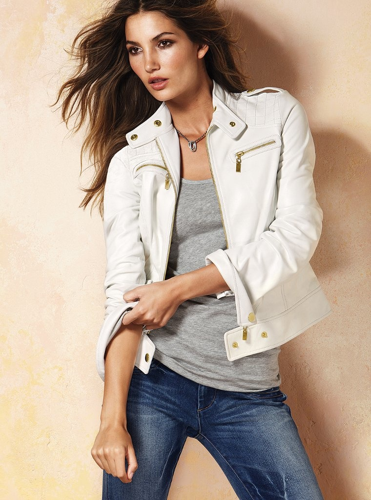 White Leather Jacket - 7 Transitional Jackets You'll Want For Spring // Notjessfashion.com