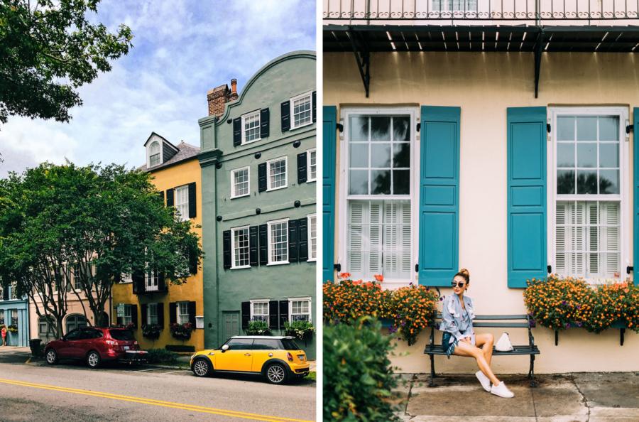 Rainbow Row Charleston - Travel Guide: 36 hours in Charleston, SC // NotJessFashion.com