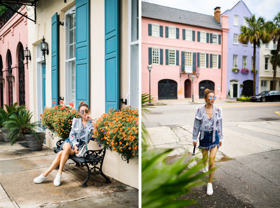 what to pack for your next beach vacation, charleston beach city, charleston vacation // Notjessfashion.com