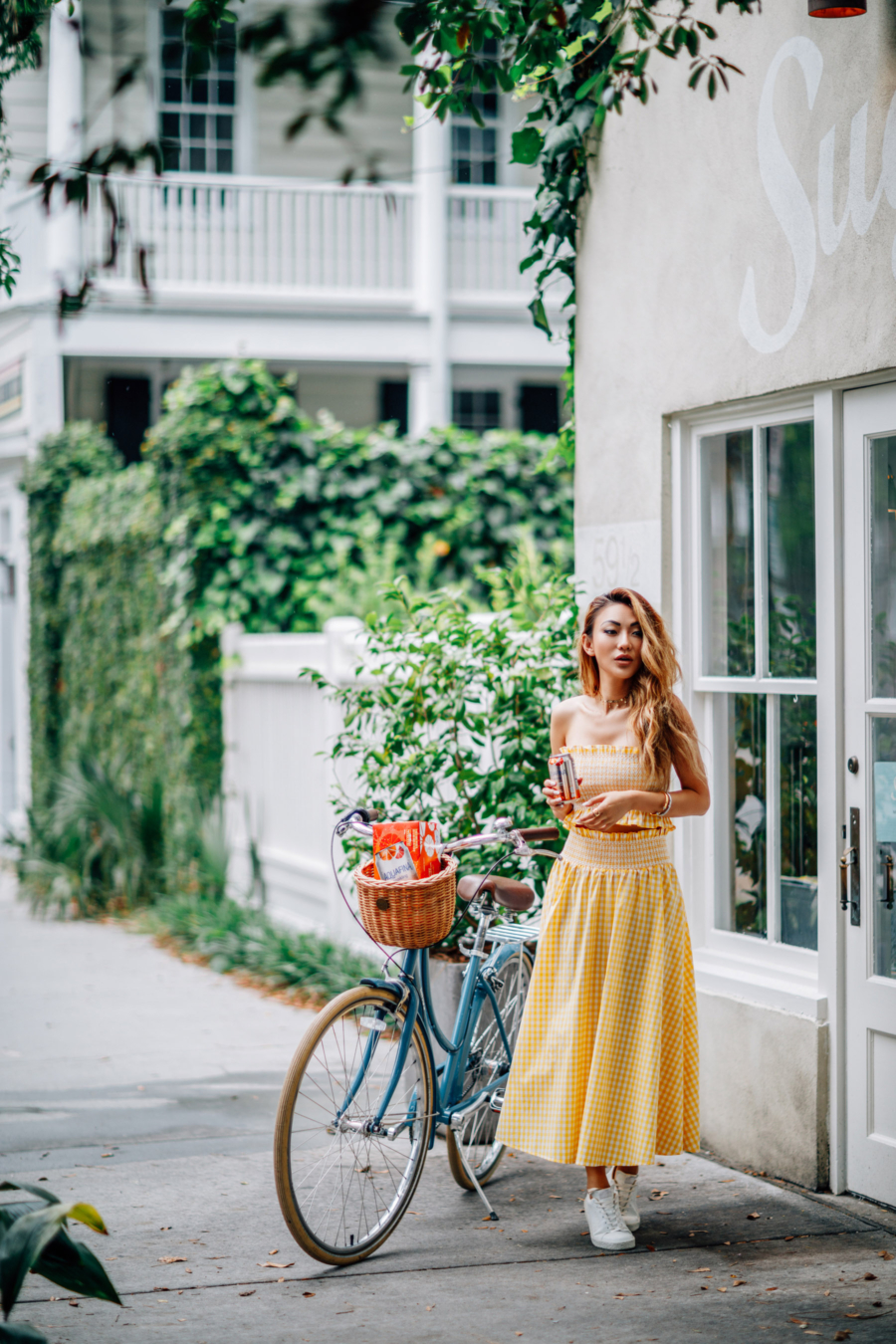 Yellow Gingham - 6 Ways To Wear Summer's Hottest Color: Yellow // NotJessFashion.com