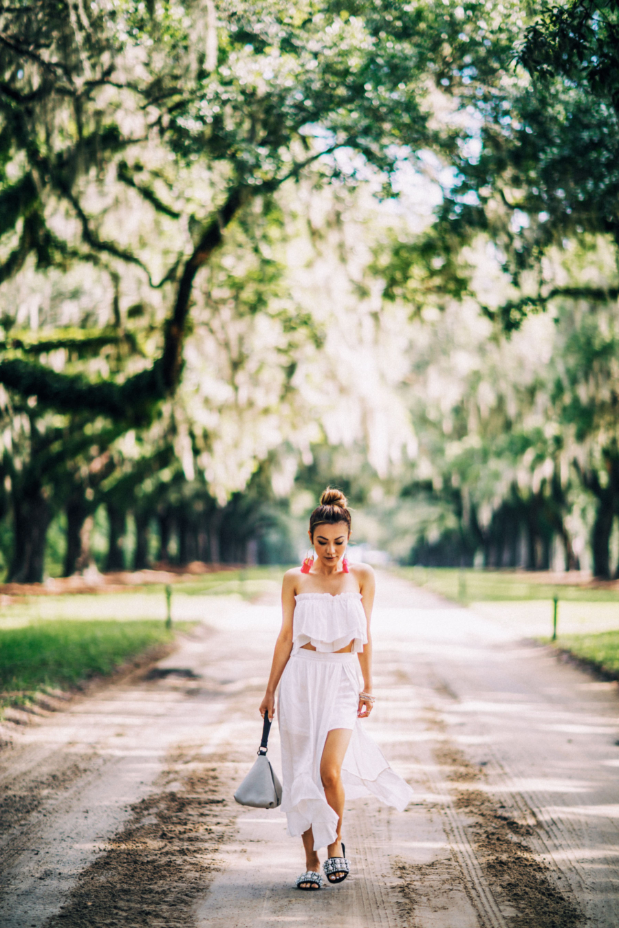 All White in Boone's Plantation - Travel Guide: 36 hours in Charleston, SC // NotJessFashion.com