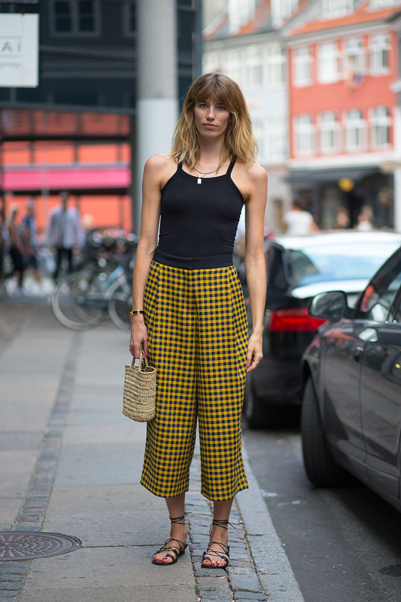 Checked Pants and Colored Top - Ultra Chic On-The-Go Styles For Every Girl // NotJessFashion.com