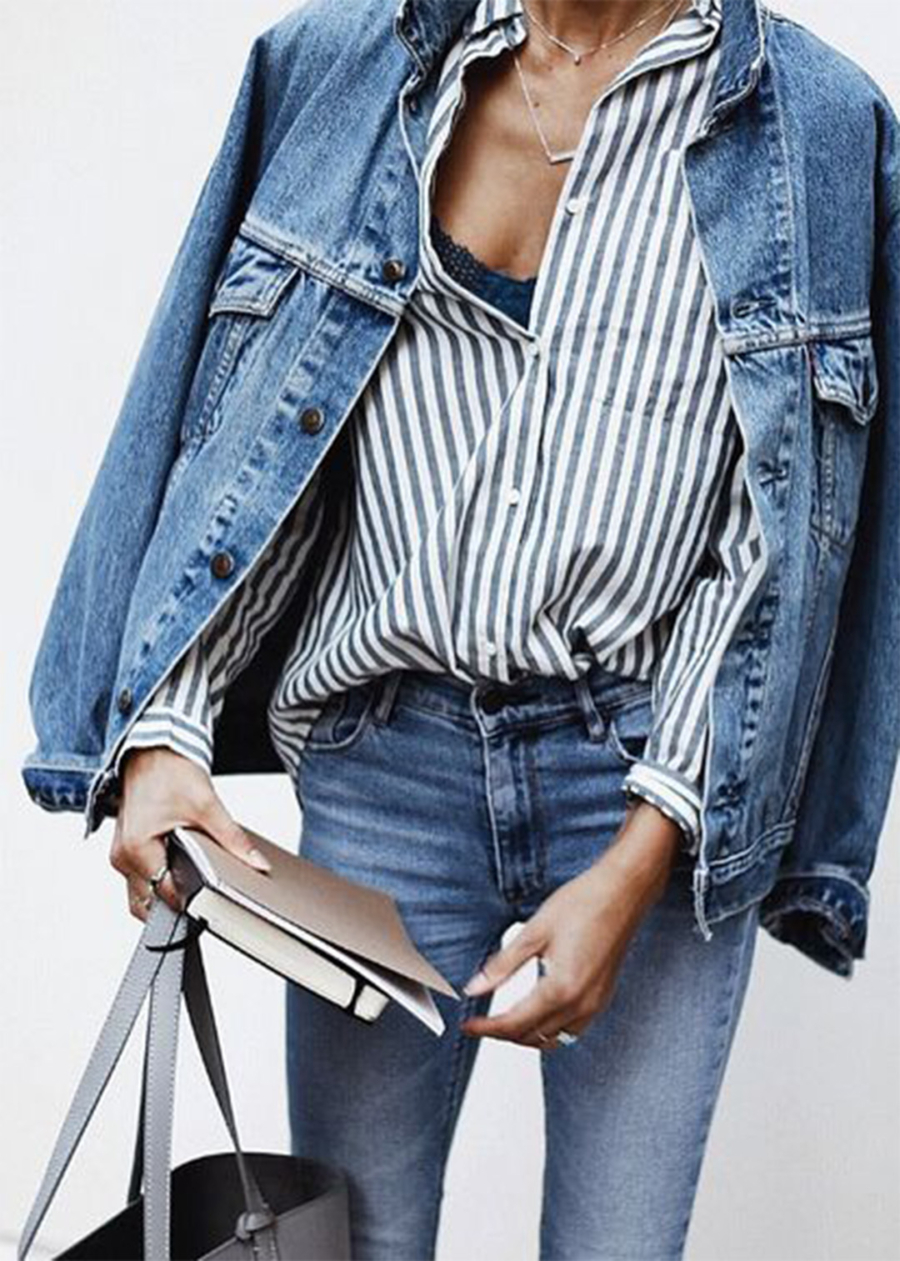 Denim Jacket - 10 Key Spring and Summer Wardrobe Essentials // NotJessFashion.com