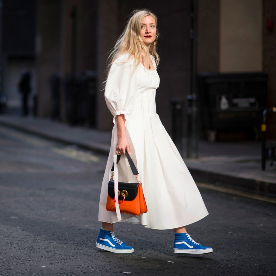 Dress and Sneakers - Ultra Chic On-The-Go Styles For Every Girl // NotJessFashion.com
