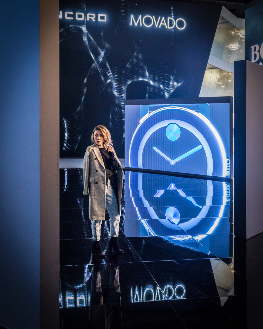 Movado Baselworld - Design Genius and the Dot that Changed the Face of Time, Movado // Notjessfashion.com