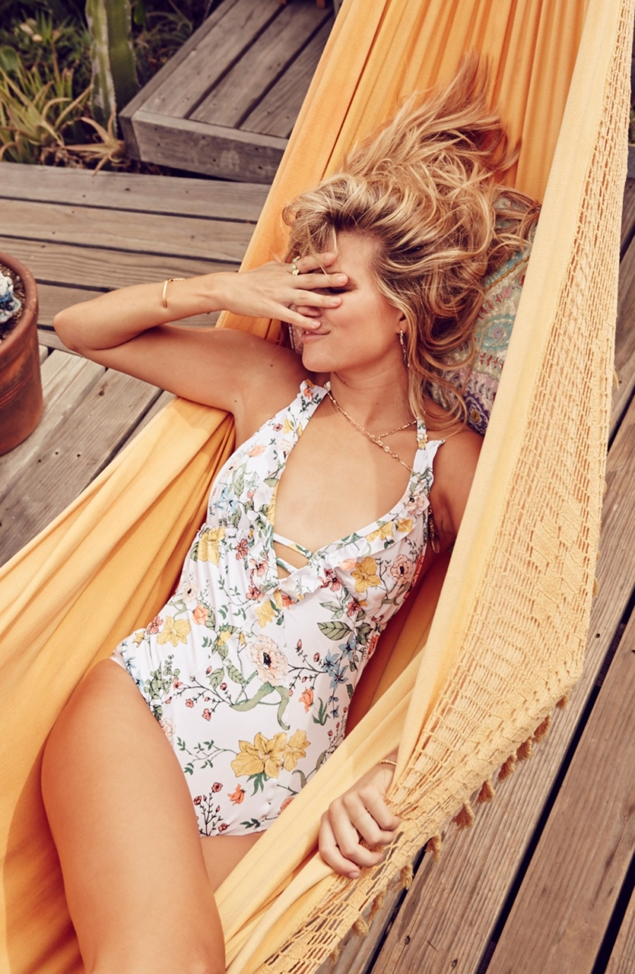 Floral Patterned One-Piece - One-Piece Swimsuits That Are Sexier Than A Bikini // Notjessfashion.com