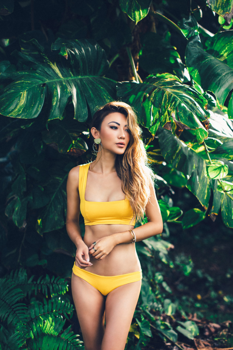 Yellow Bathing Suit - 6 Ways To Wear Summer's Hottest Color: Yellow // NotJessFashion.com