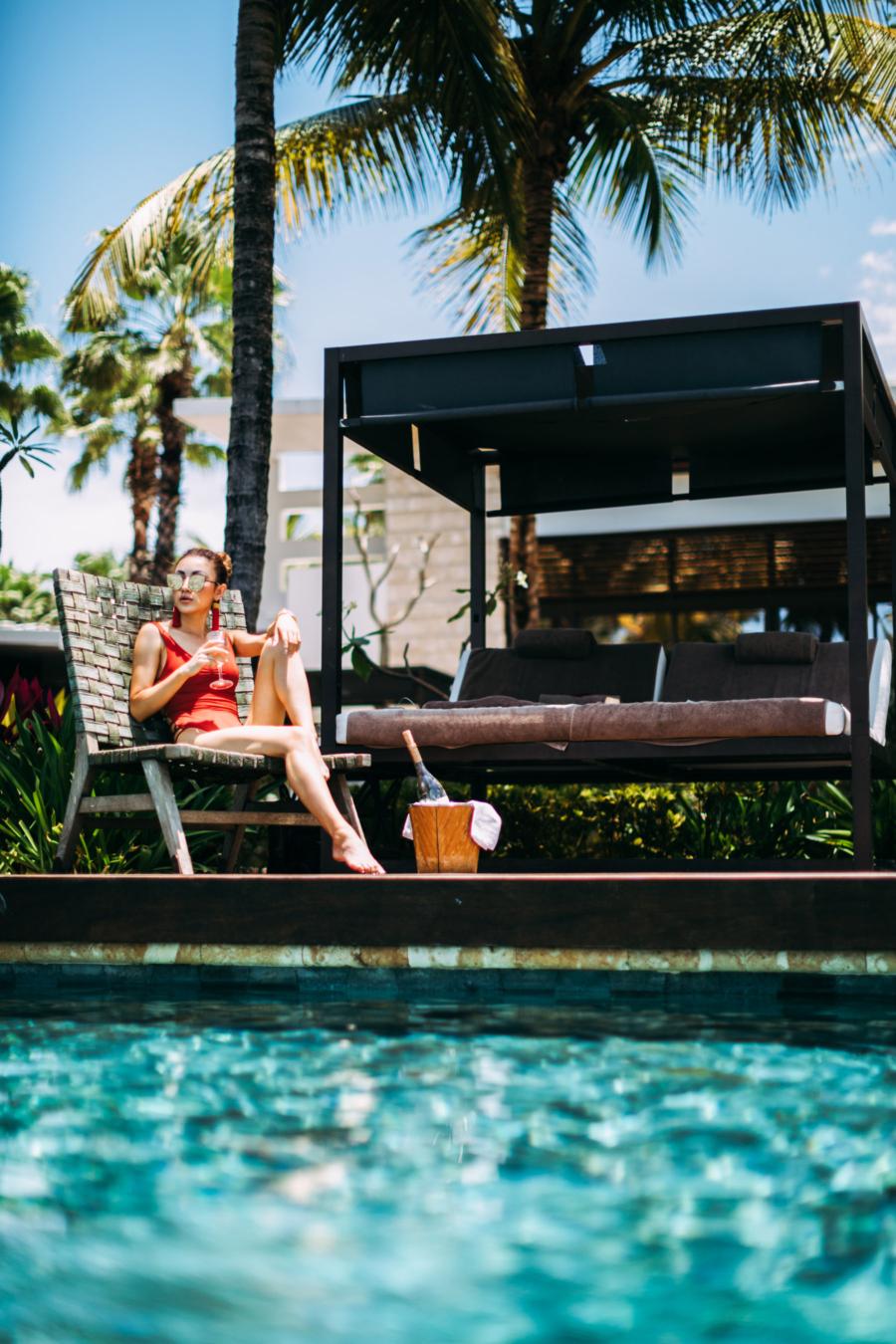 Poolside Hanging - Discover Puerto Rico's Best Kept Secret // NotJessFashion.com