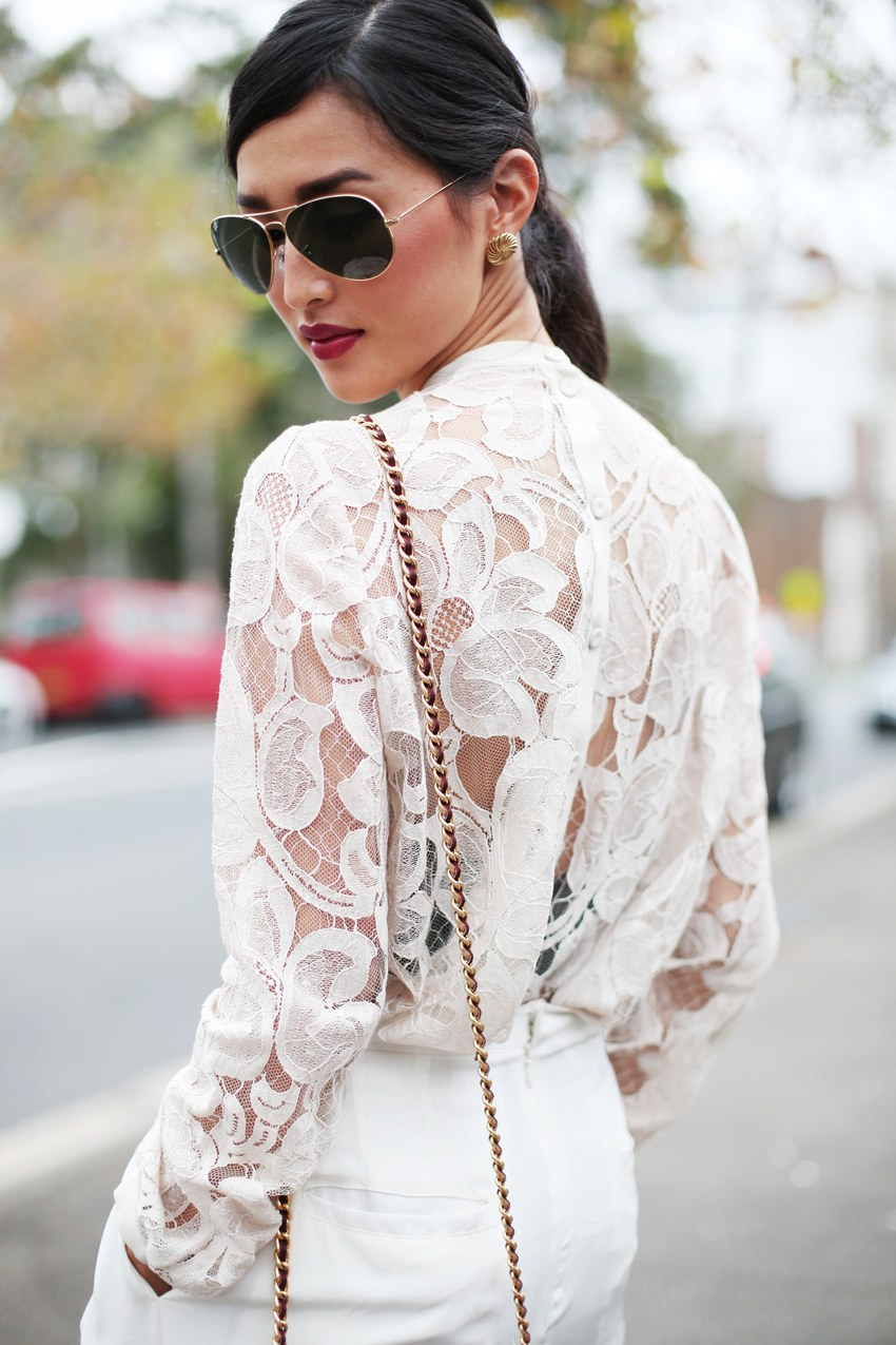 Sheer Lace - Tackling Sheer Style Trends For Spring and Summer // Notjessfashion.com