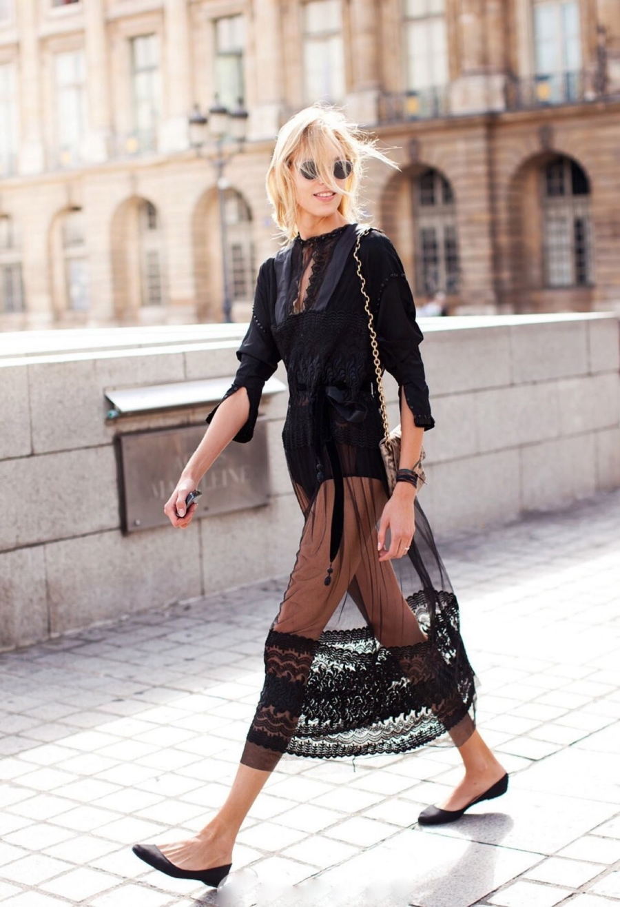 Sheer Skirts - Tackling Sheer Style Trends For Spring and Summer // Notjessfashion.com