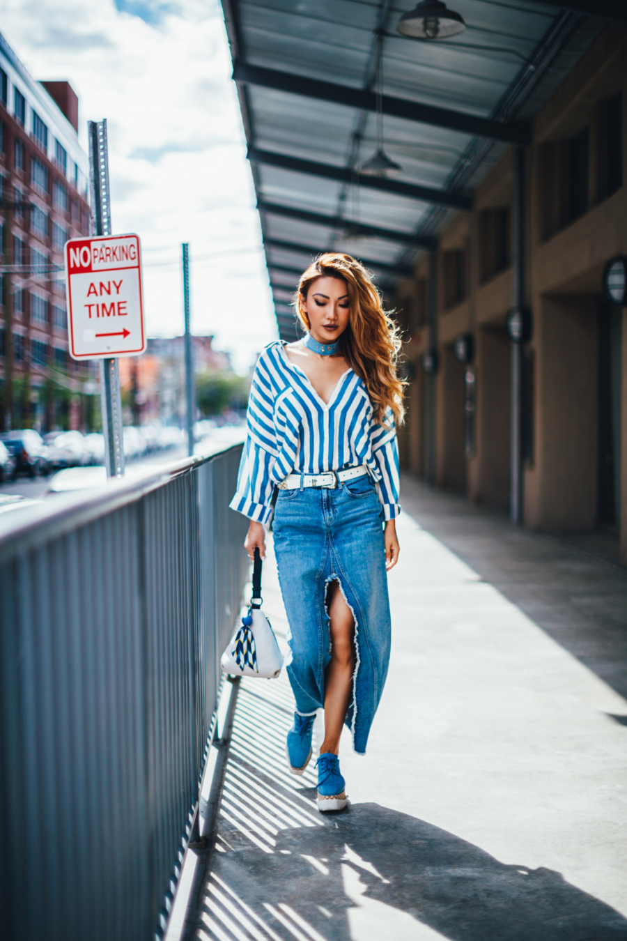 Stripes and Denim - The Essential Guide to Pulling Off Summer Stripes // NotJessFashion.com