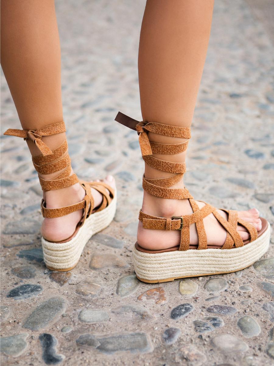 Tied Straps Espadrilles - Most Stylish Summer Sandals Under 100 // NotJessFashion.com
