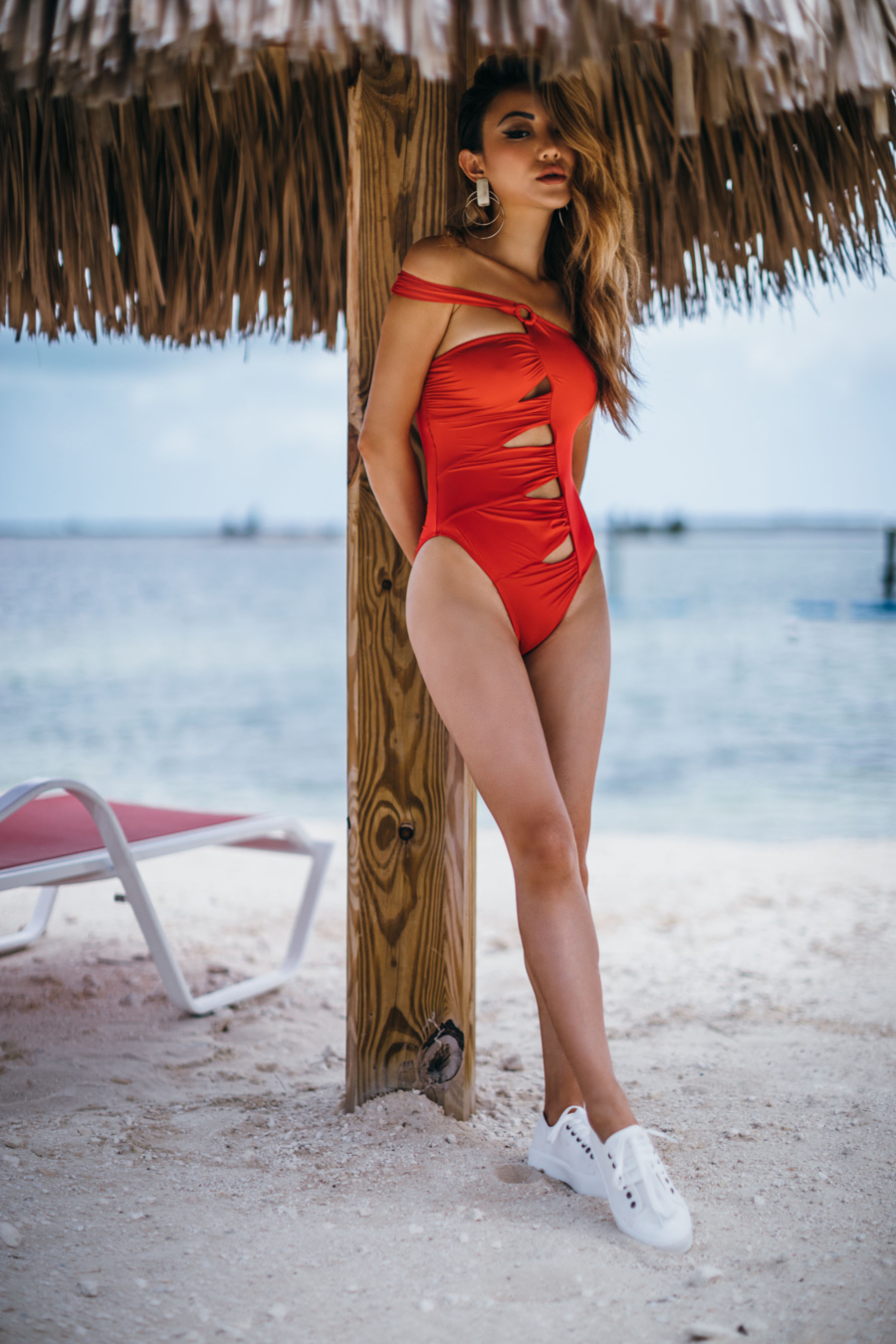 Red One Piece Swimsuit Asos - How To Find The Perfect One Piece Swimsuit // NotJessFashion.com