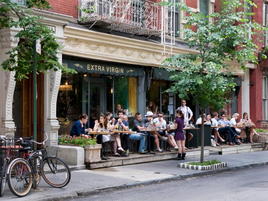 Al Fresco Dining NYC - 10 Things You Must Do In New York This Summer // NotJessFashion.com