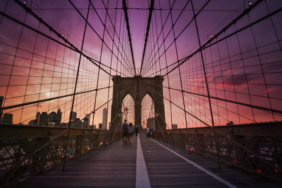 Walking the Brooklyn Bridge - 10 Things You Must Do In New York This Summer // NotJessFashion.com