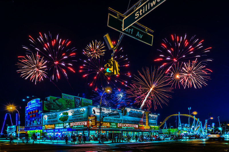 Fireworks at Coney Island - 10 Things You Must Do In New York This Summer // NotJessFashion.com