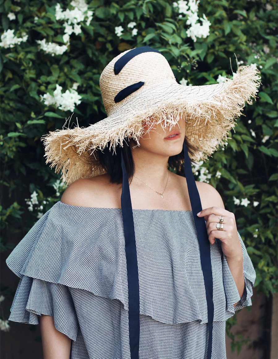 Fringe Brim hat - Find Your New Perfect Beach Hat For Summer // NotJessFashion.com