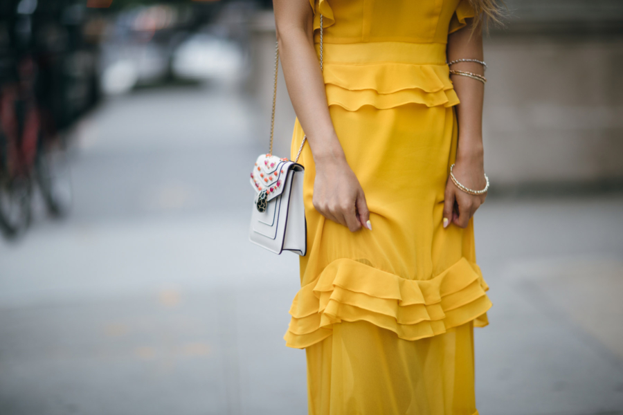 Ruffle Tiered Dress Details = 8 Pieces To Achieve The Modern Romantic Look // NotJessFashion.com