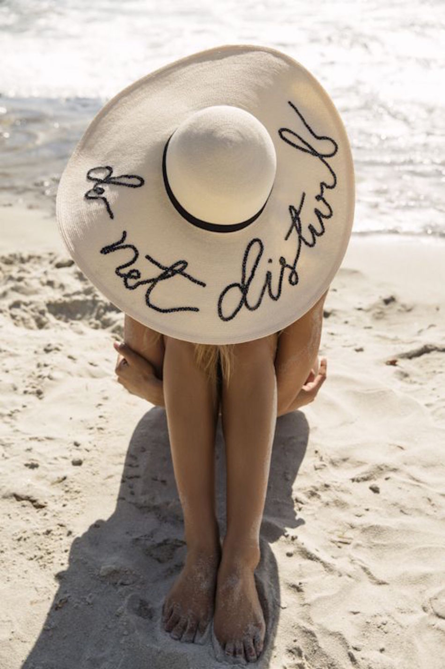 Slogan Straw Hat - Find Your New Perfect Beach Hat For Summer // NotJessFashion.com