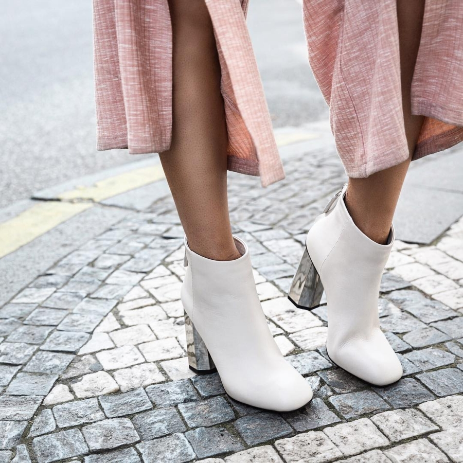 White Ankle Boots - 6 Ankle Boots You Can Still Rock All Summer // NotJessFashion.com