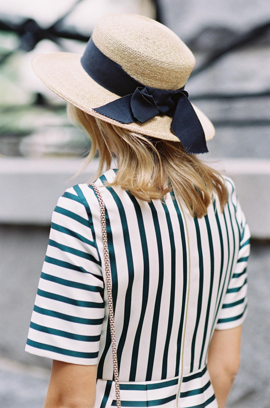 Wide Brim Straw Hat - Find Your New Perfect Beach Hat For Summer // NotJessFashion.com