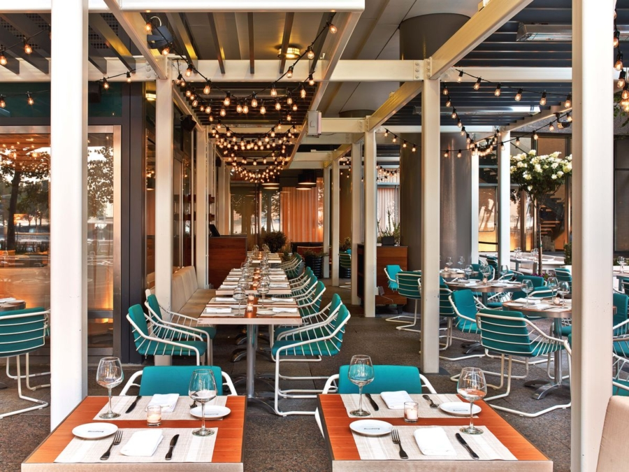 Beaubourg - The Best Spots for Al Fresco Dining this Summer in New York // NotJessFashion.com