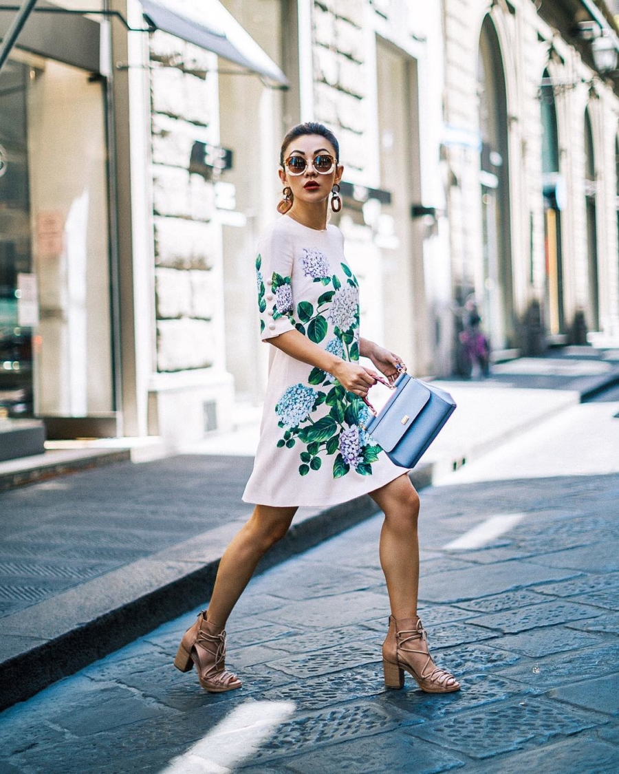 Dolce and Gabbana Dress - Instagram Outfits Round Up: Italian Days // NotJessFashion.com