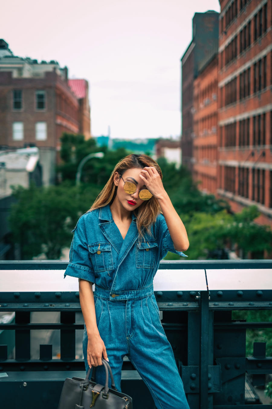 Denim Jumpsuit - Head-To-Toe Denim Look + 5 Denim Must-Haves // NotJessFashion.com