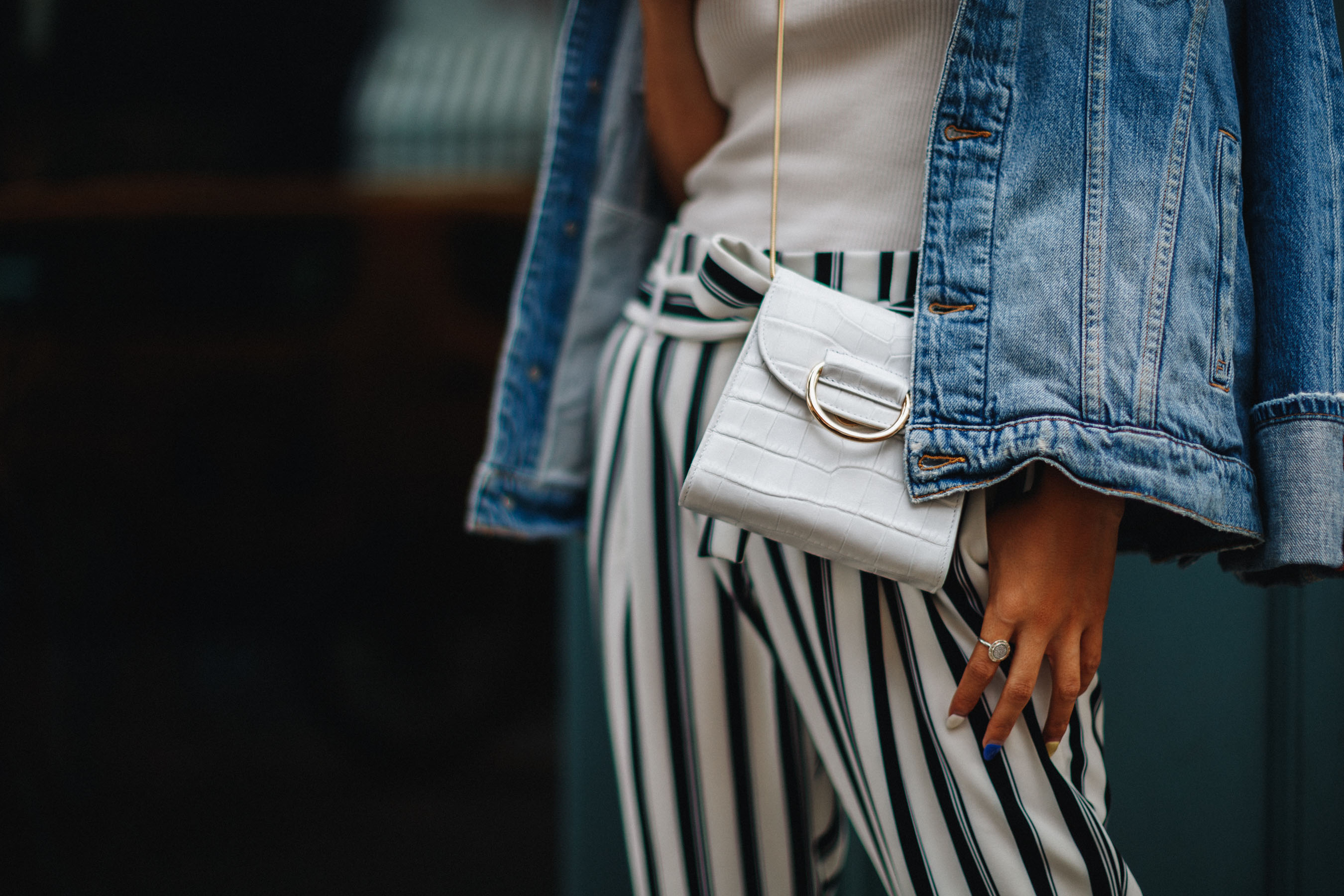 How to Wear the White Accessory Trend // NotJessFashion.com