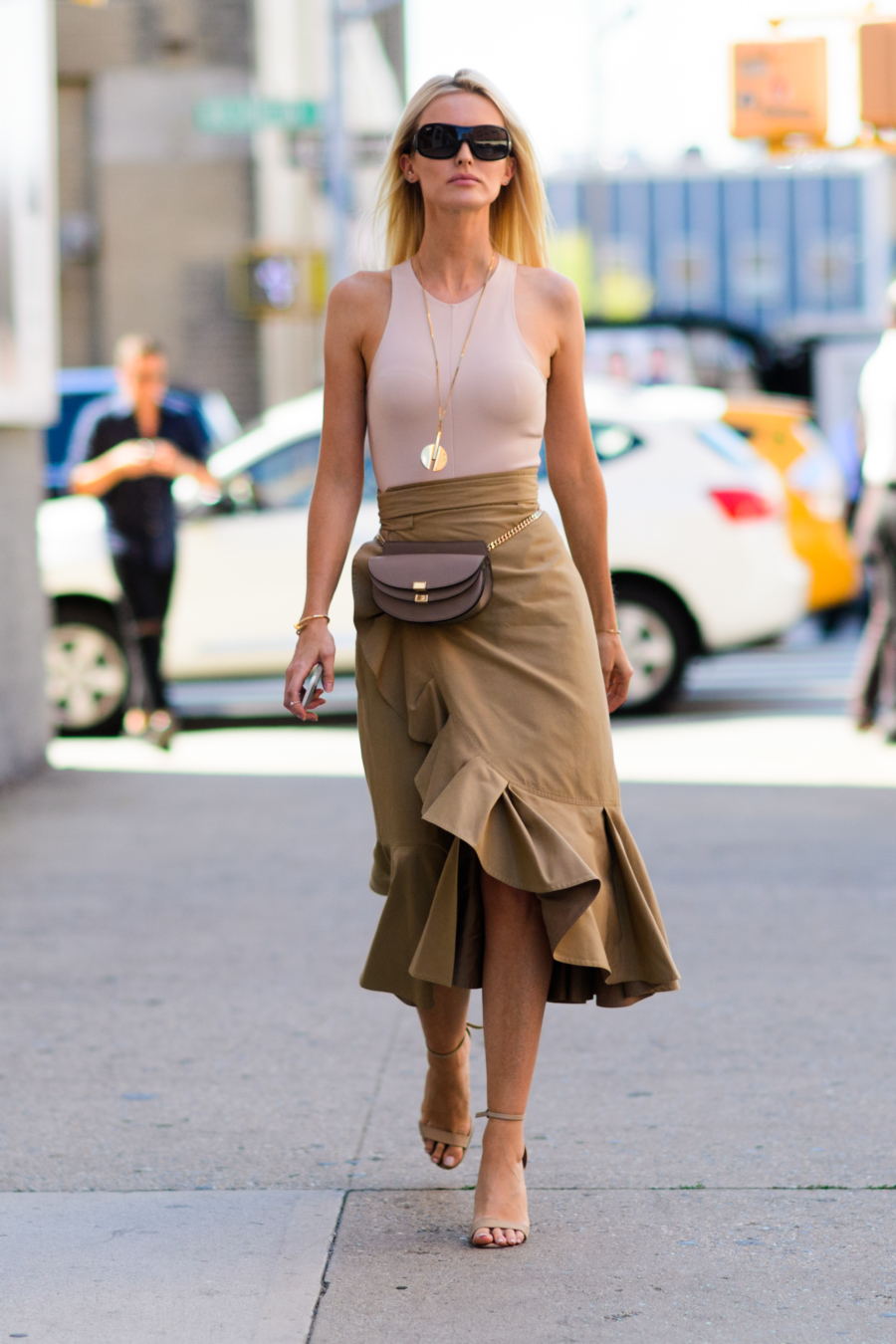 Ruffle Wrap Skirt - 4 Wrap Skirts To Elevate Your Summer Look // NotJessFashion.com