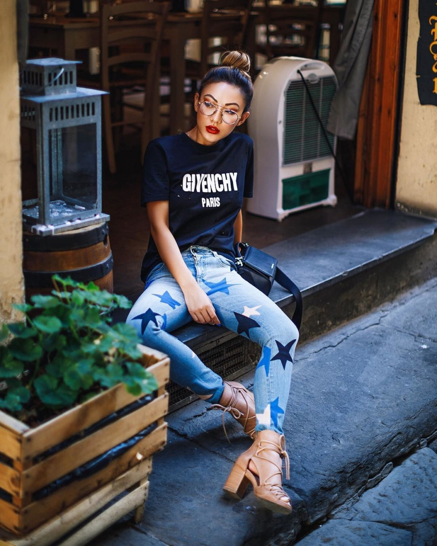 Givenchy Stars - Instagram Outfits Round Up: Italian Days // NotJessFashion.com