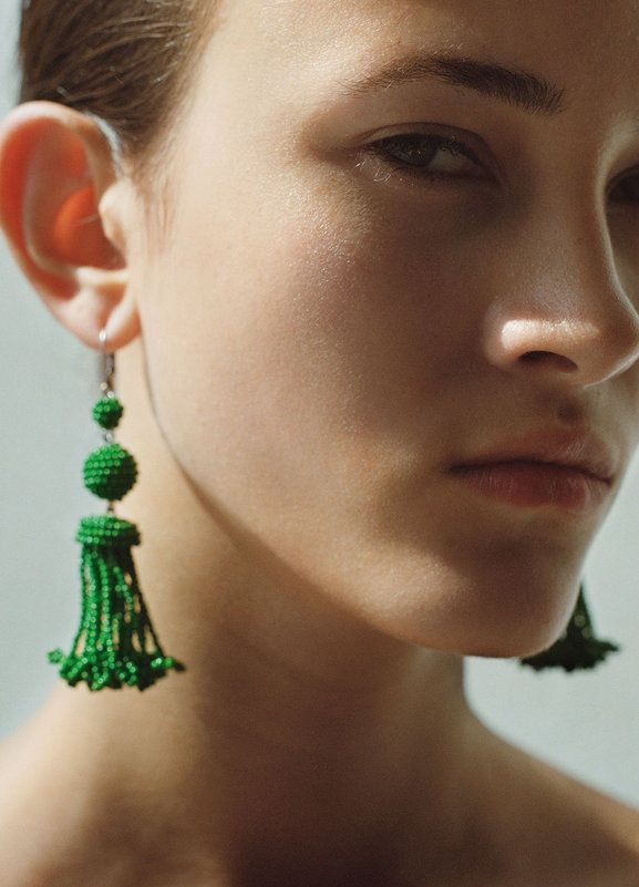 Beaded Earrings - 5 Colorful Statement Earrings for Lazy Days // NotJessFashion.com